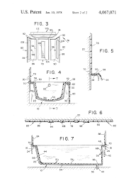 Disposable Plastic Bathtub Liners by Patent Us4067071 Bathtub Wall And Ceiling Liner Assembly