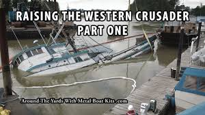 Wicked Tuna Dave Boat Sinks by Fish Boat Sinking Raising The Western Crusader Part One Youtube