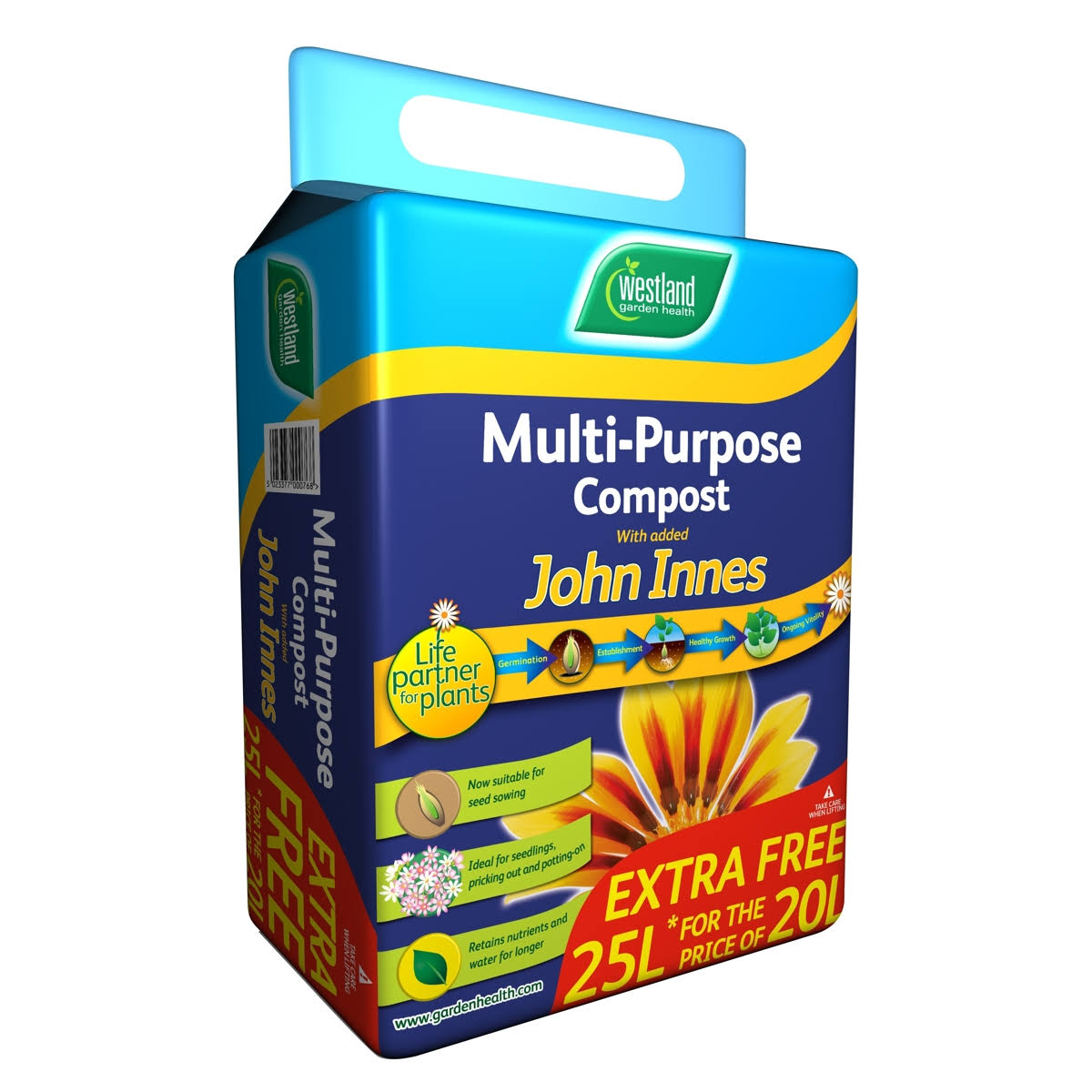 Westland Multi-Purpose Compost - with added John Innes, 25L