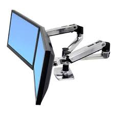 ergotron lx dual side by side monitor arm dell united states