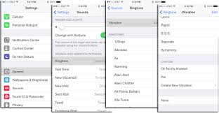 How to Create Custom Vibration Alerts in iOS 7
