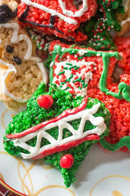 Rice Krispies Treat Christmas Cookie Cutouts
