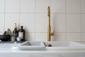 designer küche einbauküche mit geschirrspüler grau gold metod