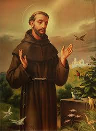 october 1 2012 francis of assisi patron of animals