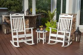 Trex Deck Rocking Chairs by Outdoor Furniture By Trex Outdoor Furniture Backyard America