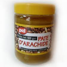 pate d arachide pcd pate d arachide sans sucre pcd 500gr