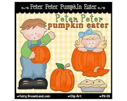 Cheater Cheater Pumpkin Eater Nursery Rhyme by Peter Peter Pumpkin Eater Clipart Clipartxtras
