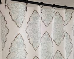 Pottery Barn Curtains 108 by 108 Wide X 84 Long Shower Curtain Shower Curtain Pinterest