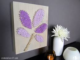 Project Home Decor String Wall Art Creative Diy Ideas With Craft For