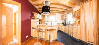 schreinerküche aus ahornholz