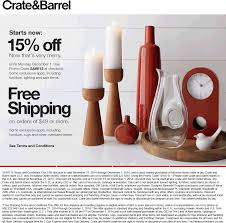 Crate And Barrel Coupon 15 Off 2018 - Galaxy S4 O2 Contract ... Pottery Barn Fniture Shipping Coupon 4 Corner Fingerboards Coupon Code Crate Barrel Coupons Doki Coupons Hello Subscription And Barrel Code 2013 How To Use Promo Codes For Crateandbarrelcom Black Friday 2019 Ad Sale Deals Blacker And Discount With Promotional Emails 33 Examples Ideas Best Practices Asian Chef Mt Laurel Taylor Swift Shop Promo Codes Crateand 15 Off 2018 Galaxy S4 O2 Contract
