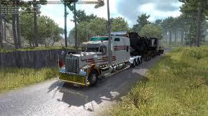Kenworth W900B Long 1.33 Mod For American Truck Simulator, ATS