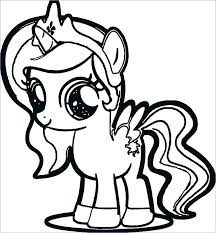Pinkie Pie Coloring Pages My Little Pony Baby