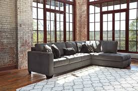 Levon Sofa Charcoal Upholstery by Living Room Ashley Furniture Gray Sofa Inmon Queen Sleeper In