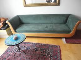 details zu riesiges molteni sofa 4 sitzer grün alcantara kirschbaum design klassiker