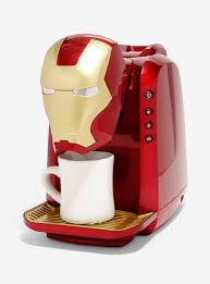 Marvel Iron Man Single Cup Coffee Maker Hi Res LargeImages Loading Zoom
