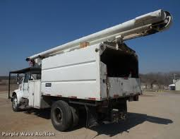 100 Forestry Truck For Sale 1999 International 4900 Bucket Forestry Truck Item DB054