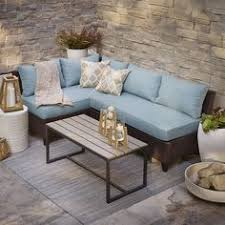 Lowes Canada Patio String Lights by Shop Allen Roth Piedmont 4 Piece Patio Conversation Set At