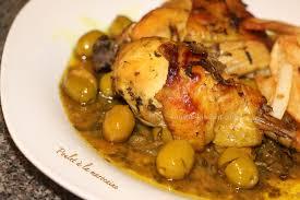 cuisine recette poulet cuisine marocaine poulet à la marocaine sousoukitchen
