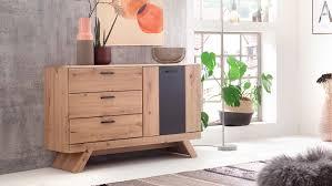 sideboard calais kommode wohnzimmer balkeneiche und grau