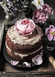 Chocolate Wedding Cake Inspiration Peonies Ideas Rustic Bohemian