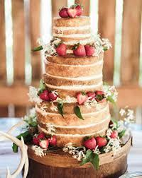 Naked Wedding Cakerustic Cakesimple Cakesponge Cake Summer Ideas