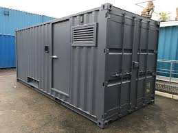 100 Shipping Container Conversions For Sale A 20ft New Converted To Be Fitted With A Generator