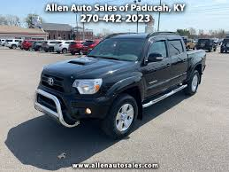 100 Toyota Tacoma Used Trucks 2014 4WD Double Cab V6 Automatic At Allen Auto Sales Serving Paducah KY IID 18787834