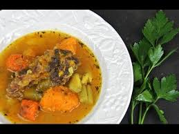 Traditional Haitian Pumpkin Soup Recipe by Caribbean Beef Sweet Potato And Pumpkin Soup Youtube