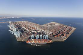 100 Coastal Truck Driving US West Coast Ports New Technology Driving US West Coast Port