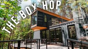 100 Container Box Houses The Hop Airbnb Tour Shipping Home
