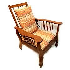 Charles Stickley Rocking Chair by 76 Gustav Stickley Oak Bow Arm Morris Chair Lot 76 Morris