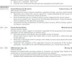 Professional Objective For Resume Example Definition Tourism Student Sample
