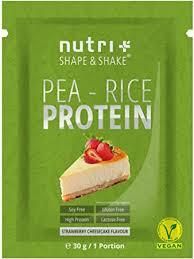 vegan egg white powder soy free sle strawberry cheesecake 30 g protein powder without gluten lactose sugar nutri plus pea rice protein