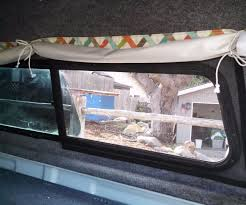 100 Living In A Truck Camper Shell Removable Screens For A 3 Steps Inside Window
