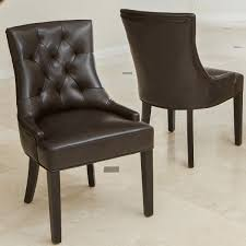 wynn bonded leather chair 2 pack