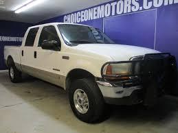 100 2001 Ford Truck Used Super Duty F250 4x4 Crew Cab Lariat 73L