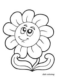 Best Flower Coloring Pages Printable Ideas For Your KIDS