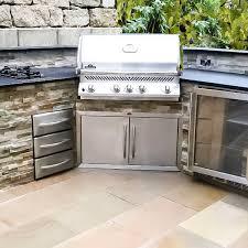 eck outdoorküche mit napoleon grill
