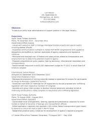 Cover Letter Best Legal Secretary Resume Example