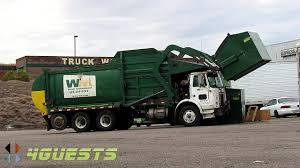 100 Waste Management Garbage Truck WASTE MANAGEMENT GARBAGE FRONT LOADER TRUCK STOP YouTube