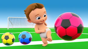 Learn Colors With 3D Balls For Children Toddlers And Babies