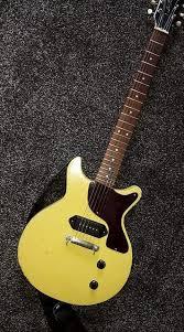 Les Paul Junior Copy Relicd Set Neck TV Yellow GBP