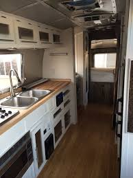 1973 Airstream Remodel New Flooring Cabinets Heck