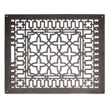 Decorative Return Air Grille 20 X 20 by Air Vents Register Covers Heat Grates U0026 Grilles