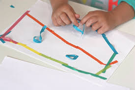 Washi Tape Activity For Kids