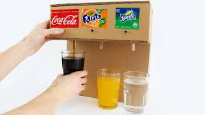 how to make coca cola soda fountain machine with 3 different