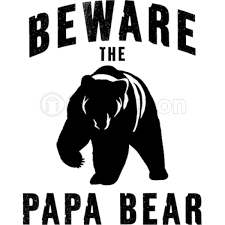 Papa Bear IPhone 5C Case