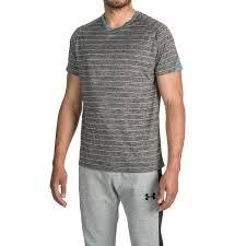 bruno v neck striped color block t shirt for men save 75