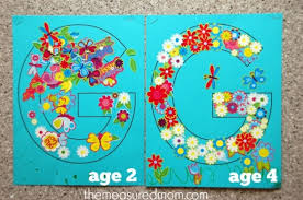 Simple Letter G Crafts For Toddlers And Preschoolers The Garden